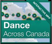Canada Dance Map